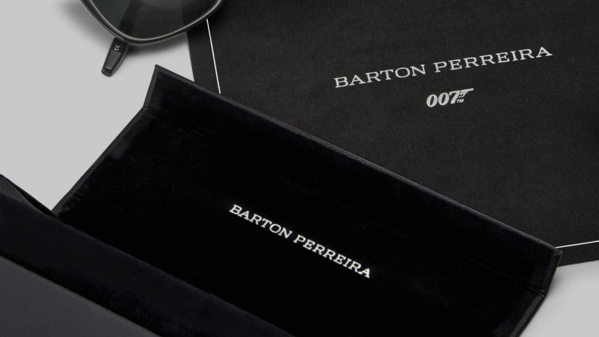Barton Perreira teams up with 007 for eyewear collection