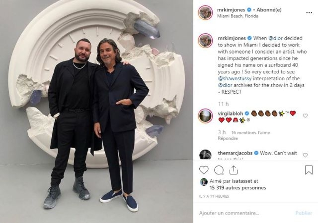 Kim Jones, team with Shawn Stussy for his next Dior collection