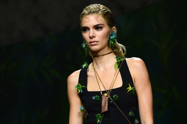 Kendall Jenner remains the world's most popular top model