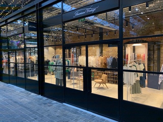 American Vintage opens in London and thinks about Milan