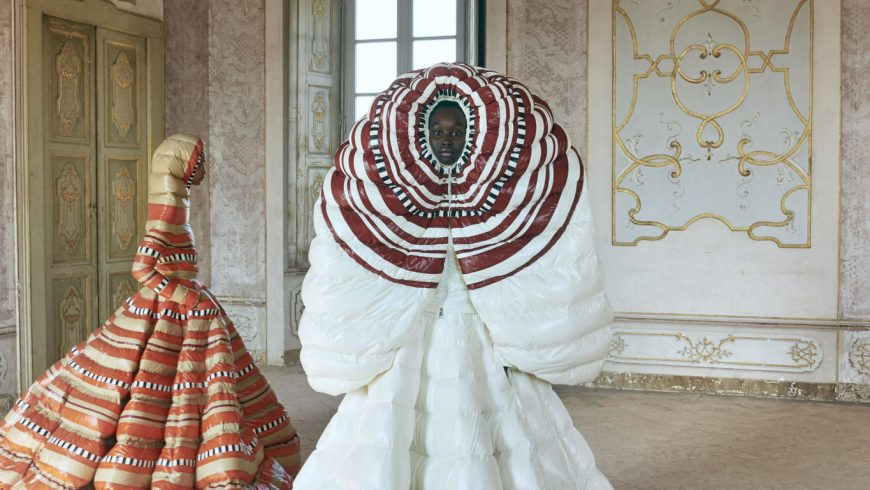 Moncler unveils the latest Genius collection by Piccioli in Paris