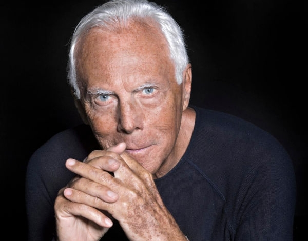 Armani invites celebrities to reuse clothes