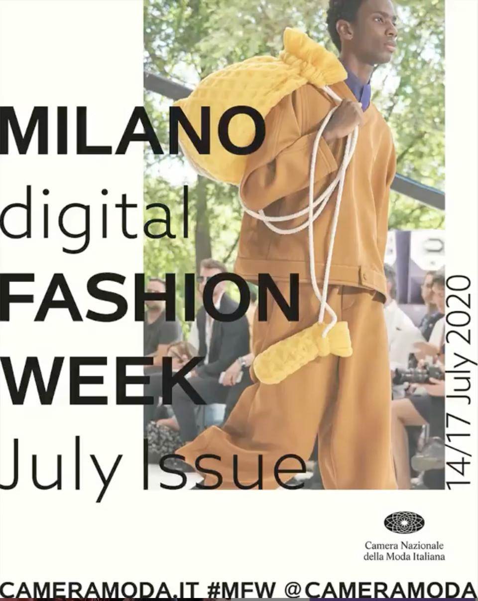 Camera Moda is planning four fashion Weeks in Milan