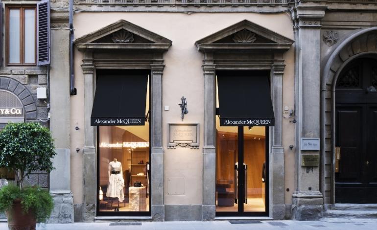Alexander McQueen opens in Florence