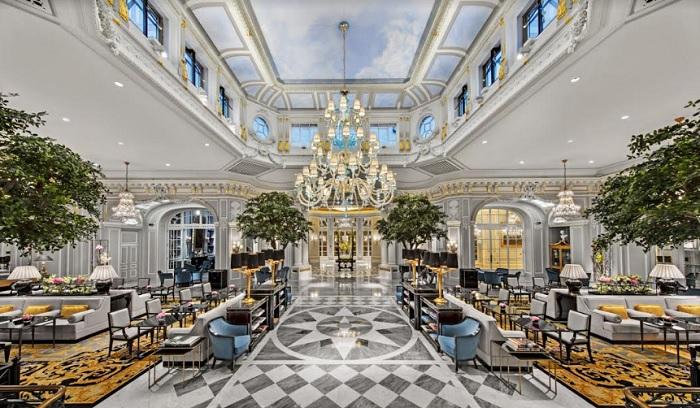 Luxury hotel, Tetris Italia completes St. Regis hotel renovation in Rome