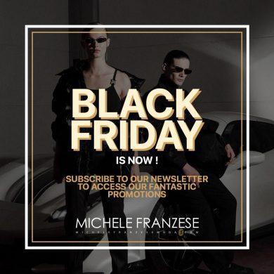 "Michele Franzese Moda, it's ""Black friday"" time!"