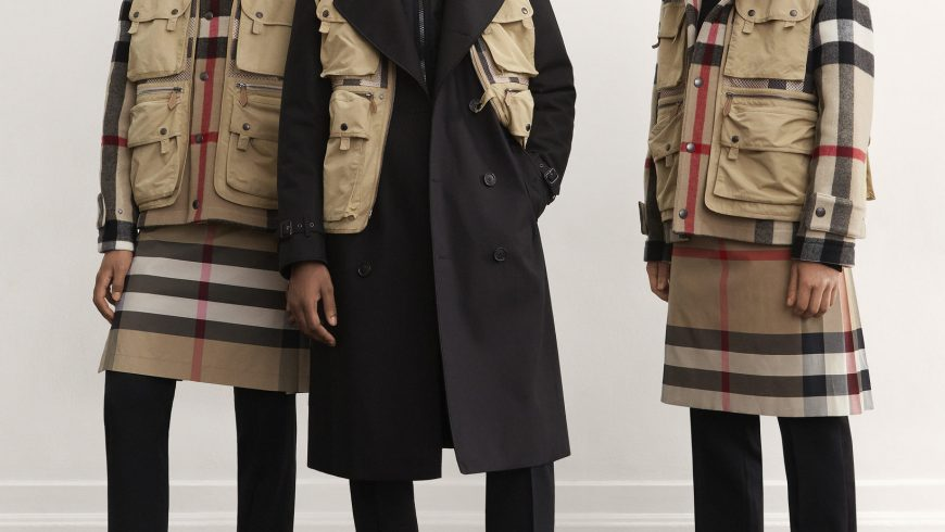 Burberry, outdoor chic per una nuova era di libertà