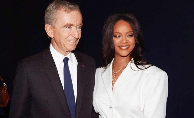 Lvmh suspends Fenty, Rihanna's luxury brand