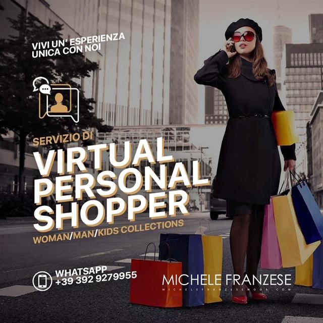 Michele Franzese Moda, ecco l'aiuto del Virtual Personal shopper