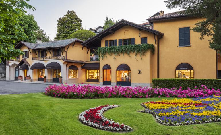 Louis Vuitton on the Lake of Como