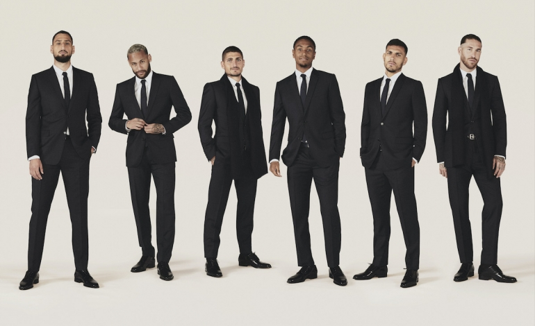 Soccer and fashion: Dior for PSG, Loro Piana for Juve