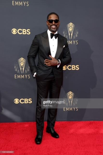 Sterling K. Brown wears Tom Ford at Emmy Awards